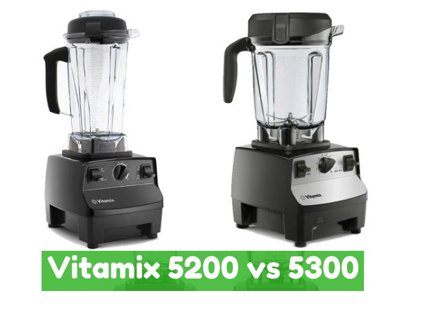 Similarities between the Vitamix 5200 and 5300